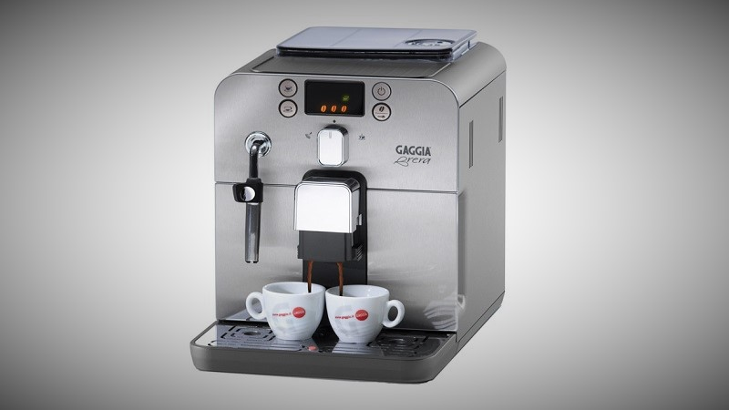 gaggia brera bean to cup coffee machine review 2017. Black Bedroom Furniture Sets. Home Design Ideas