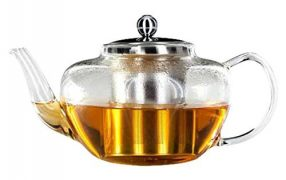 best glass teapot with infuser