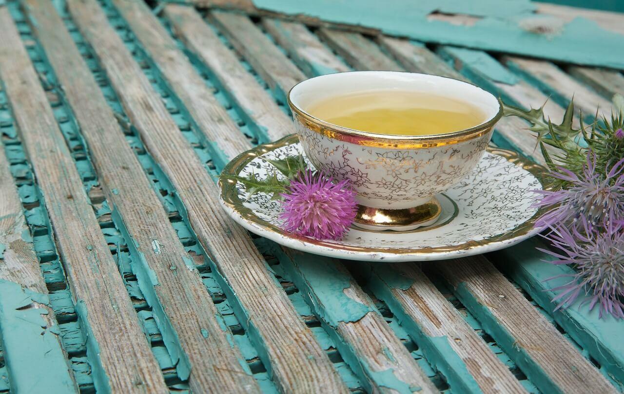 benefits of milk thistle tea